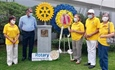 Rotary International Depositó Ofrenda Floral al Busto de Paul Harris